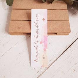 Cartón para bengala rectangular colección algodón (No incluye bengala)
