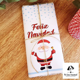 Tableta de chocolate Papa Noel