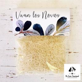 Bolsa de arroz colección azuleta