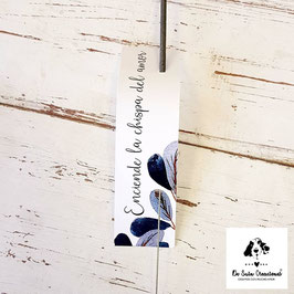 Bengala + cartón rectangular colección azuleta