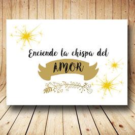 Cartel ilumina nuestro baile dorado fb