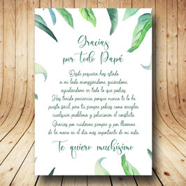 Diploma hojas verdes