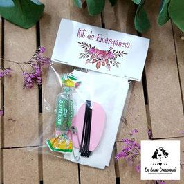 Kit de emergencia flores rosas