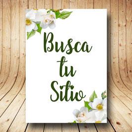 Cartel flores blancas vertical fb