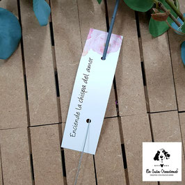 Bengala + cartón flores dulces rectangular