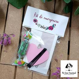 Kit de emergencia flores bonitas
