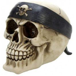 Le crâne bandeau