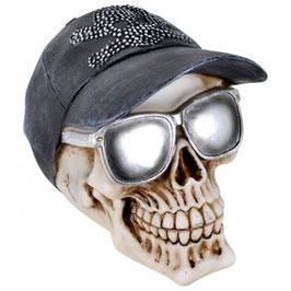 Le crâne avec lunettes