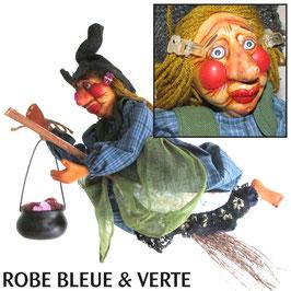 """La VIVIANE de Mirepoix """"bleue & verte"""""""