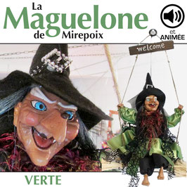 "La MAGUELONE de Mirepoix ""verte"""