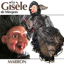 """La GISÈLE de Mirepoix """"marron"""""""