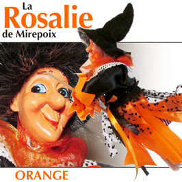 "La ROSALIE de Mirepoix ""orange"""