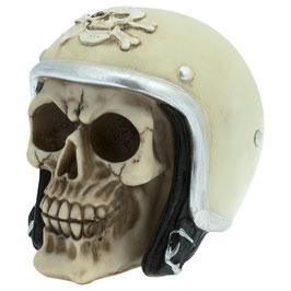 Le crâne casque moto