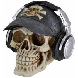 Le crâne casque audio