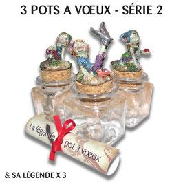 3 POTS A VOEUX SERIE 2