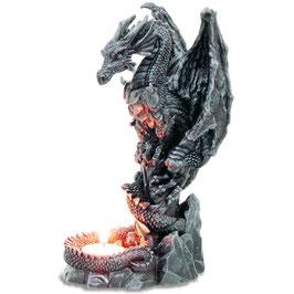 Le bougeoir dragon gardien du feu sacré