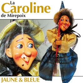 "La CAROLINE de Mirepoix ""jaune & bleue"""