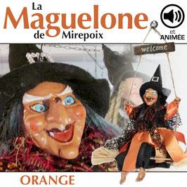 "La MAGUELONE de Mirepoix ""orange"""