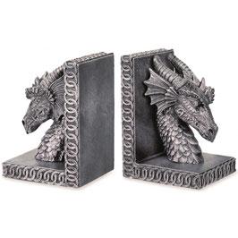 Les 2 serre-livres dragons