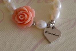 "Flower Power ""Blumenkind"" - Mädchenarmband"