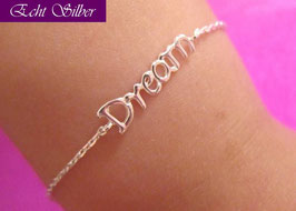 "Armkettchen ""follow your dreams"""