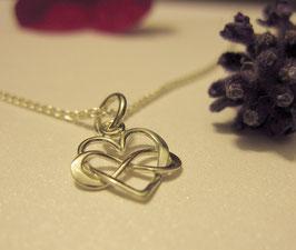 """Mamakette """"Infinity LOVE"""" - Sterling Silber für Damen"""
