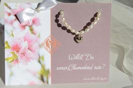 """Blumenkind Armband """"Pearl""""- mit Herz"""