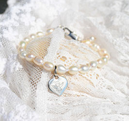 """Armband """"Pearl""""- mit Schutzengel"""