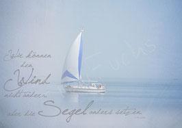 Postkarte Schiff