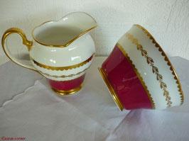 Porzellan Milch & Zucker Set  PEc