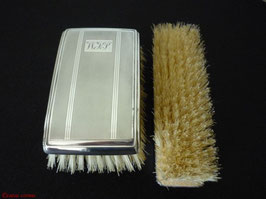 Sterling Silber Haarbürste & Kleiderbürste
