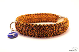 "Paracord Survival Halsband, Leopard ""Triple"""