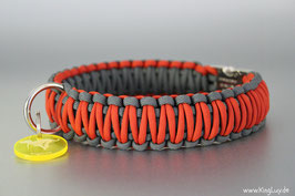"Paracord Survival Halsband, Lasy ""Double"""