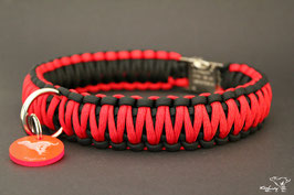 "Paracord Survival Halsband, Flash ""Double"""