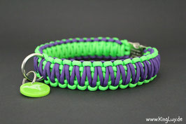 "Paracord Survival Halsband, June ""Double"""