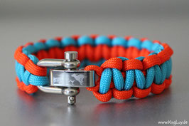 "Paracord Survival Armband, Bibi ""Single"""