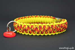"Paracord Survival Halsband, Roxy ""Double"""