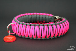 "Paracord Survival Halsband, Neon Star ""Triple"""
