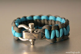 "Paracord Survival Armband, Samy ""Single"""