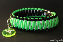 "Paracord Survival Halsband, Woody ""Double"""
