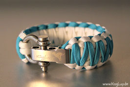 "Paracord Survival Armband, Amitha ""Double Light"""