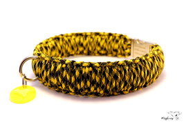 "Paracord Survival Halsband, Bumble Bee ""Triple"""