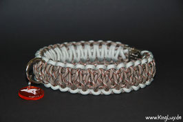 "Paracord Survival Halsband, Desert Storm ""Double"""