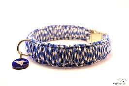 "Paracord Survival Halsband, Royal Mountain ""Triple"""