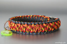 "Paracord Survival Halsband, Fire Ball ""Double"""