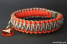 "Paracord Survival Halsband, Warrior ""Double"""