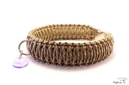 "Paracord Survival Halsband, Desert Camo ""Triple"""