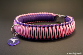 "Paracord Survival Halsband, Luna ""Triple"""