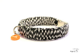 "Paracord Survival Halsband, Panda II ""Triple"""