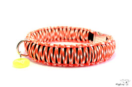 "Paracord Survival Halsband, Cream Dream ""Triple"""